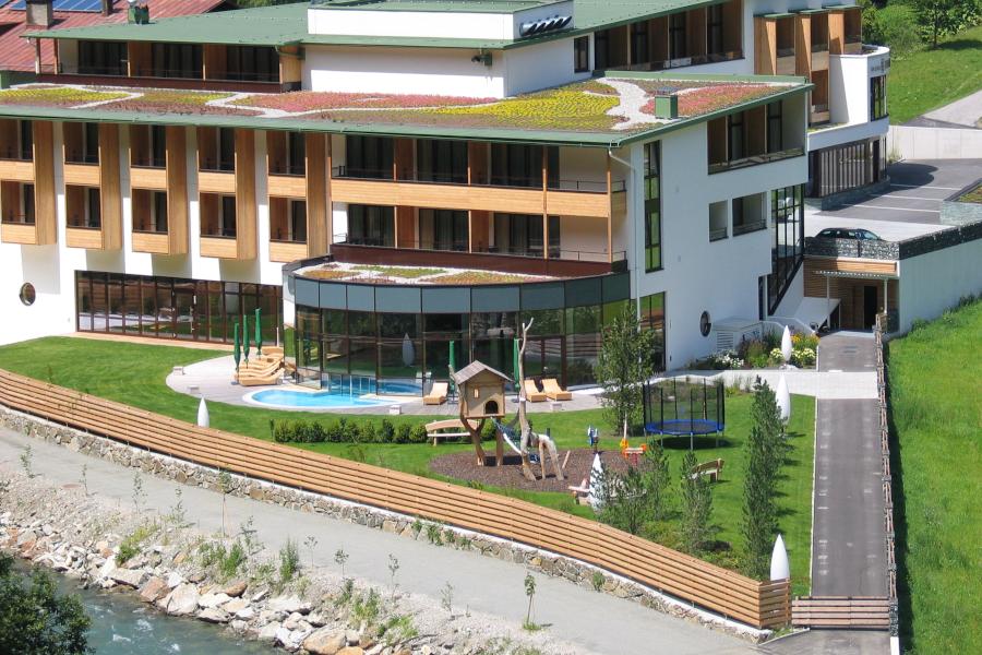 Impressionen - Hotelansicht Sommer
