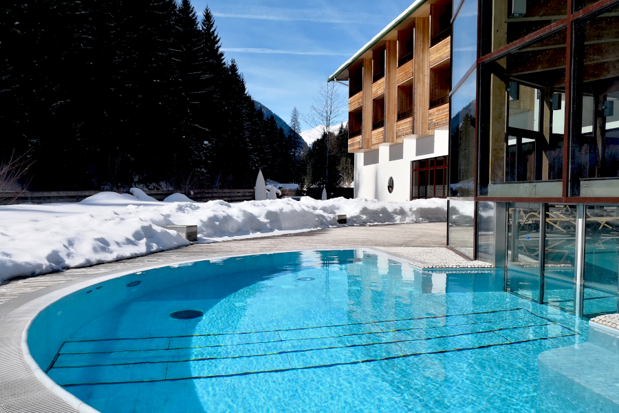Impressionen - Pool Winter